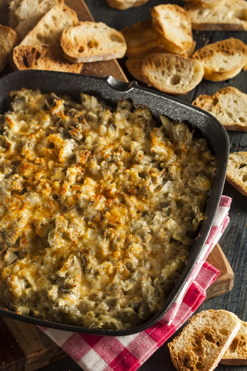 Vegan Spinach Artichoke Dip with White Beans and Cauliflower – Make ...
