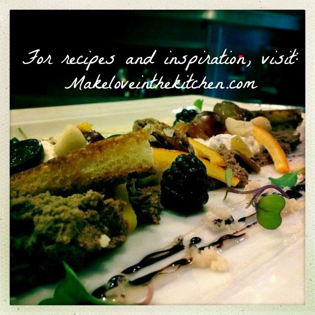 For recipes and inspiration, visit: makeloveinthekitchen.com